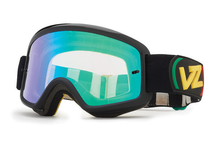 VonZipper Beefy MX motocross goggles in black with a clear lens MCGG3BFX-BCC
