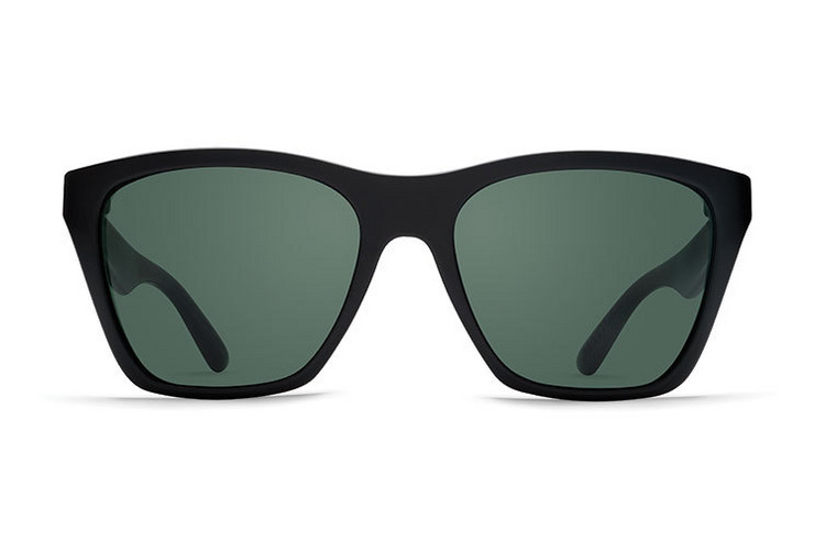VonZipper Booker Sunglasses in Black Tort with Gradient Lenses SMRF3BOO-TBK