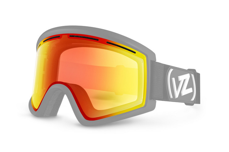 VonZipper Cleaver snowboard & ski goggle replacement lens in blackout. GMSL7CLL-BLK