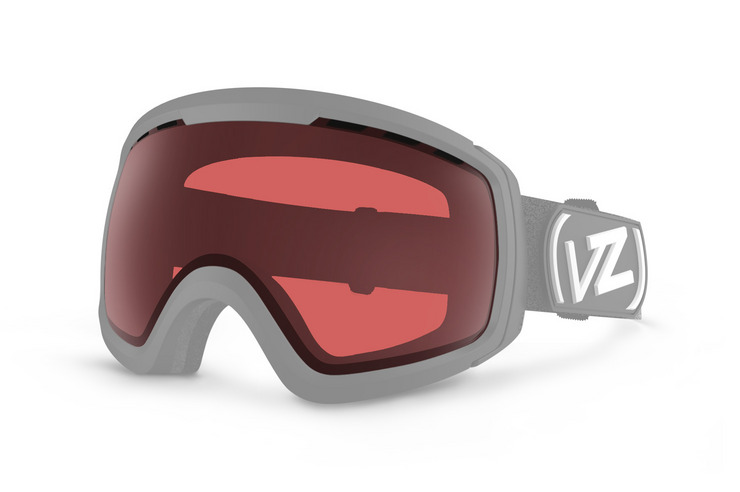 VonZipper Feenom N.L.S. replacement snwoboard & ski goggle lens in clear chrome orange. GMSL7FNL-CCO