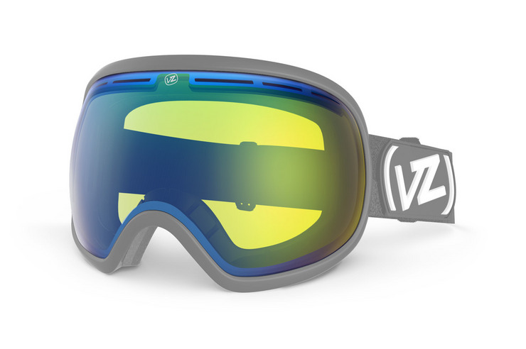 VonZipper Fishbowl snowboard & ski goggle replacement lens in fire chrome. GMSLQFIL-FCL