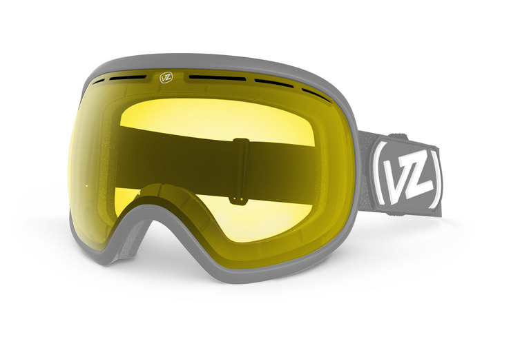 VonZipper Fishbowl snowboard & ski goggle replacement lens in quasar chrome. GMSLQFIL-QUA