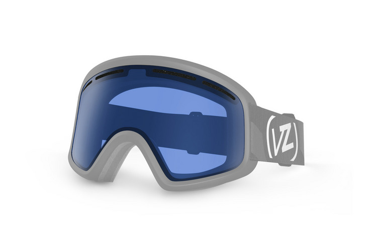 VonZipper Trike Kid's snowboard & ski goggle replacement lens in yellow. GMSLQTRL-YEL