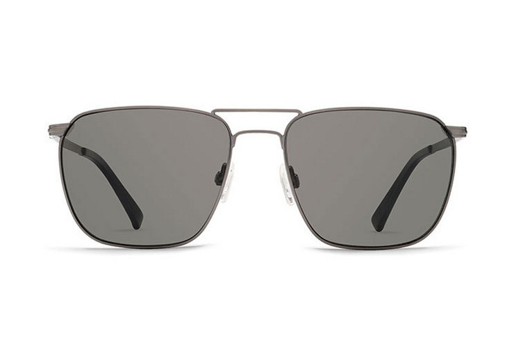 VonZipper F.C.G. Libertine sunglasses in antique silver with vintage grey lenses SMWF1LIB-SGY. Freethinkers Conspiracy Guild.