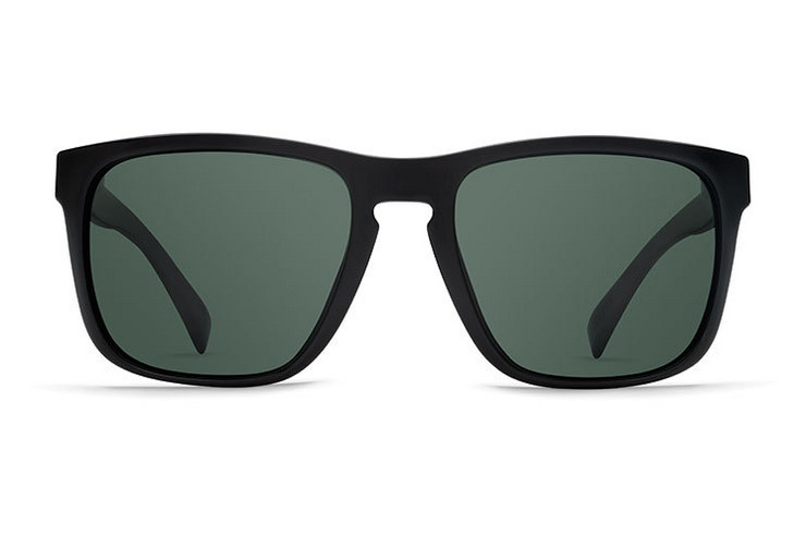 VonZipper Vibrations Lomax sunglasses in black satin with grey polycarbonate lenses SMSF1LOM-VIS