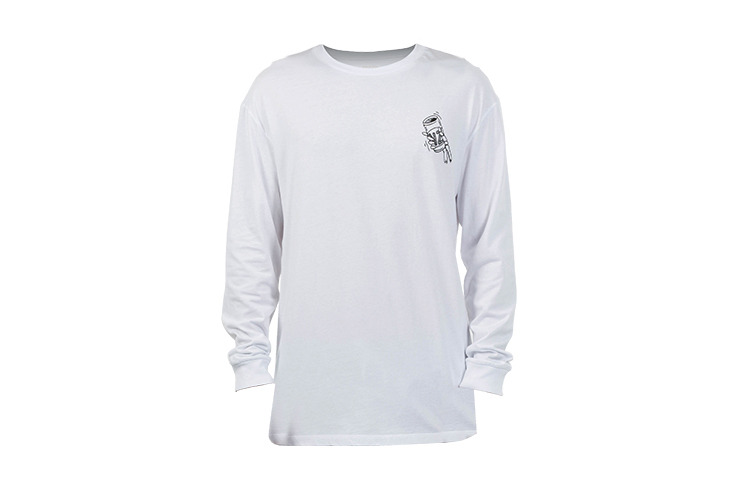 Fins 'N' Tins Long Sleeve T-Shirt