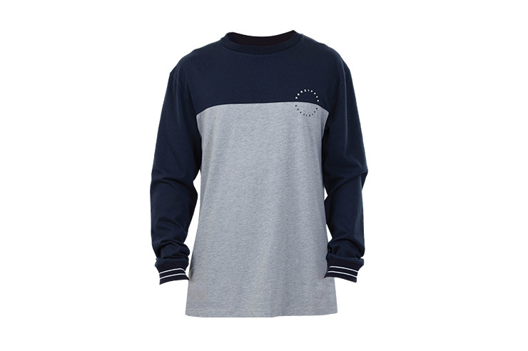 VONZIPPER TEES CIRCLES LONG SLEEVE KNIT