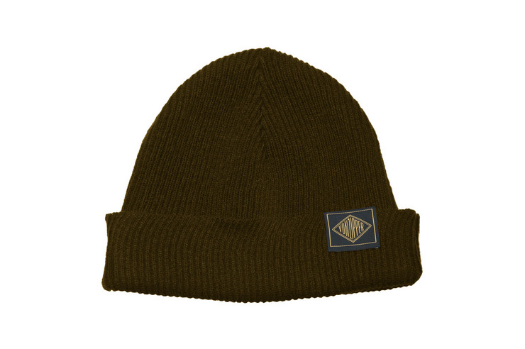 VonZipper The Watcher beanie in rust.