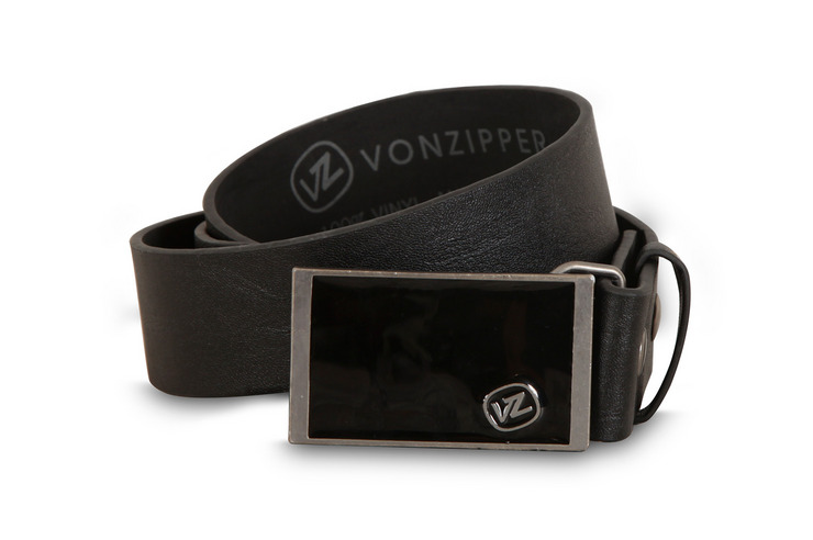 VonZipper Wheelie Belt in black.