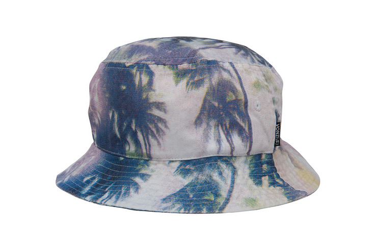 VonZipper Palms bucket hat in black.