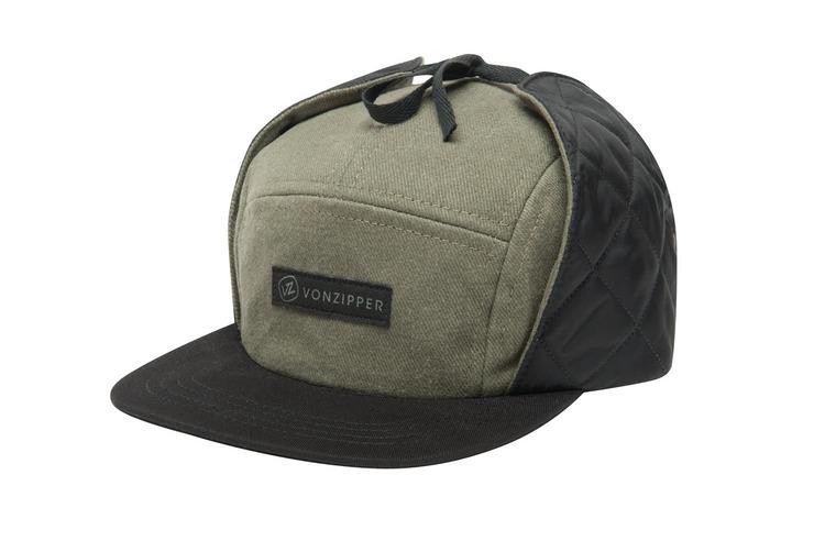 High Fives Ear Flap Strapback Hat