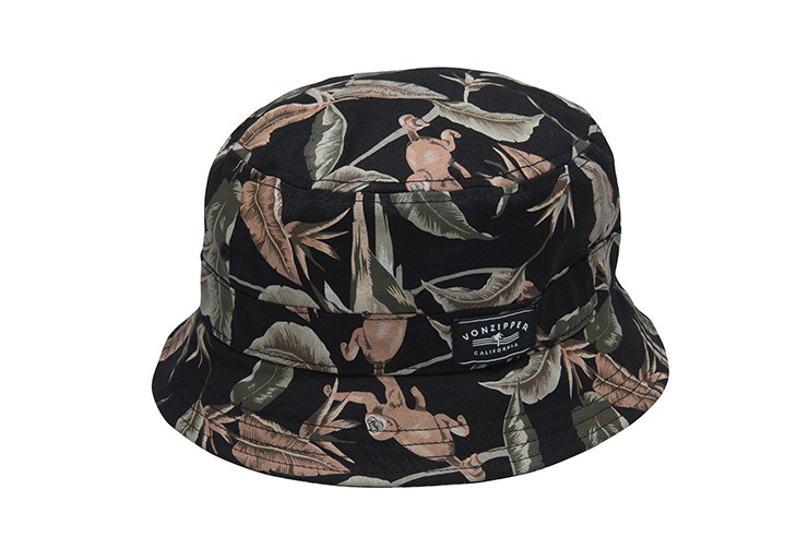 VONZIPPER HATS TROPICAL WAR BUCKET HAT