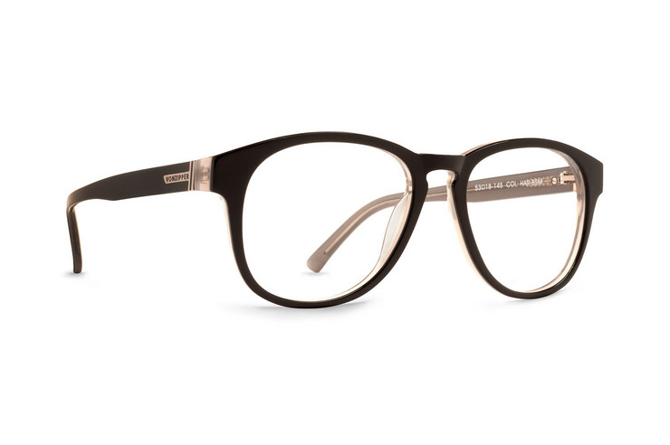 VonZipper Harlem Hangover optical eyeglasses in black smoke are ready for your prescription lenses.