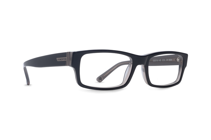 VonZipper Ditch Day optical eyeglasses in tortoise gloss are ready to be filled with your prescription lenses.