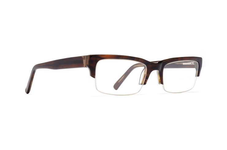 VonZipper Elks Lodge optical eyeglasses in black smoke gloss are ready to be filled with your prescription lenses.