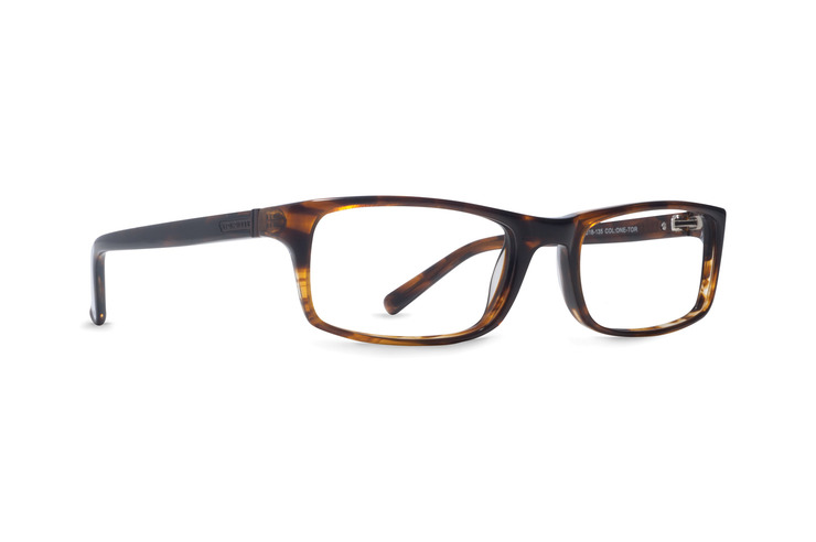 VonZipper One Night Stand optical eyeglasses in tortoise gloss are ready to be filled with your prescription lenses.
