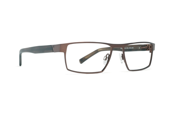 VonZipper Flim Flam optical eyeglasses in charcoal satin are ready to be filled with your prescription lenses.