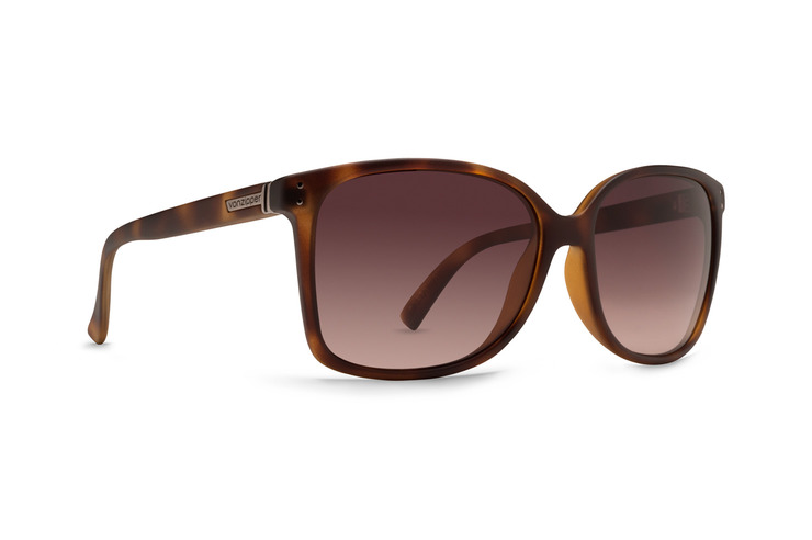 VonZipper Castaway women's sunglasses in tortoise gloss with gold glo lenses SJJF1CAS-TRG