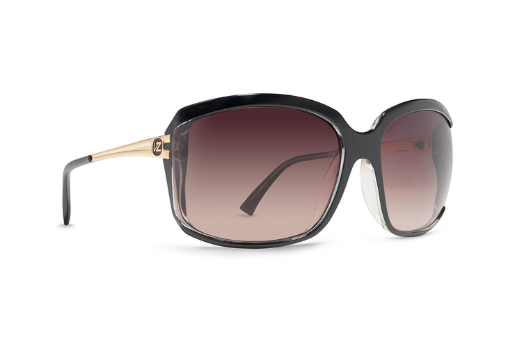 VonZipper Kismet women's sunglasses in demi tortoise fade with gradient lenses SJJFTKIS-TBD