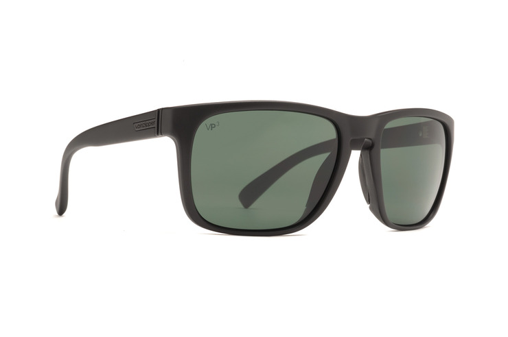 VonZipper Lomax sunglasses in Vibrations black satin with quasar eclipse polycarbonate lenses SMSF1LOM-VIQ