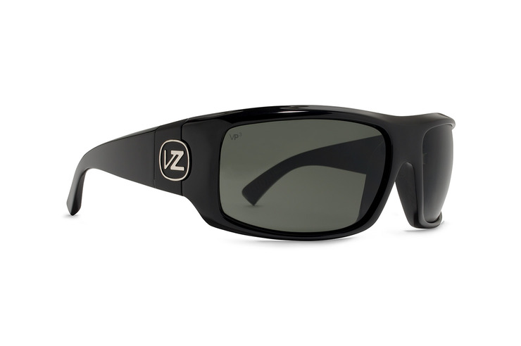 VonZipper Clutch sunglasses in black gloss with grey polycarbonate lenses SMSFACLU-BKG