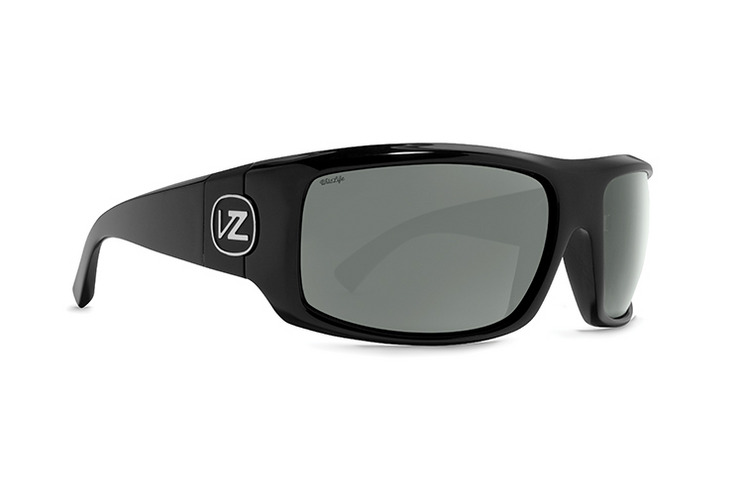 VonZipper Clutch VP3 Polarized sunglasses in black satin with gold glo polycarbonate polarized lenses SMPFACLU-BDP