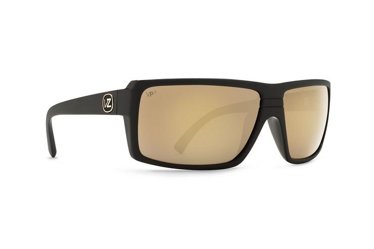 VonZipper Snark sunglasses in black satin with grey polycarbonate lenses SMSFCSNA-BKS