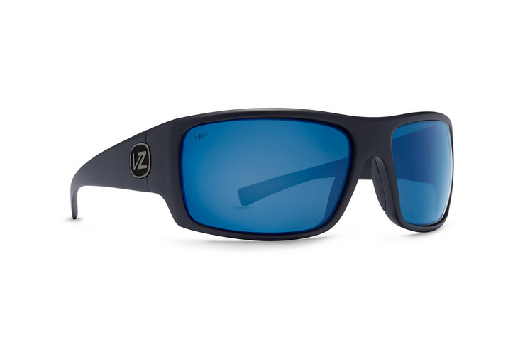 VonZipper Suplex sunglasses in black satin with grey polycarbonate lenses SMSFTSUP-BKS