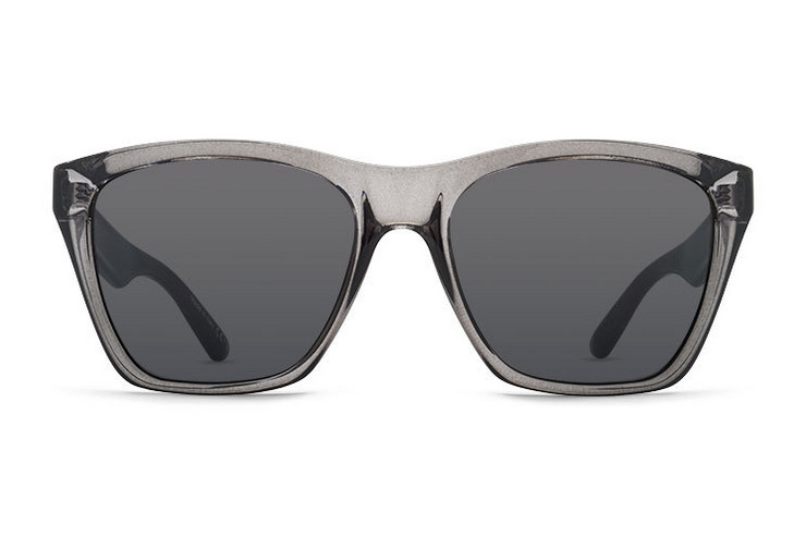 VonZipper Booker Sunglasses in Black with Vintage Grey Lenses SMRF3BOO-BKV