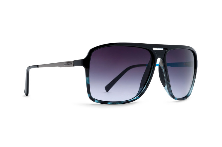 VonZipper Hotwax sunglasses in tortoise satin with gradient polycarbonate lenses SMRF5HOT-TOR