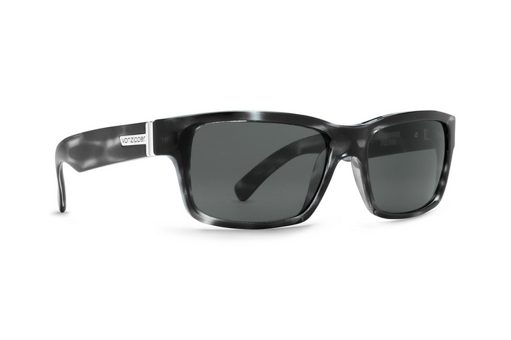 VonZipper Fulton sunglasses in demi tortoise satin with vintage grey lenses SMRF7FUL-TOR
