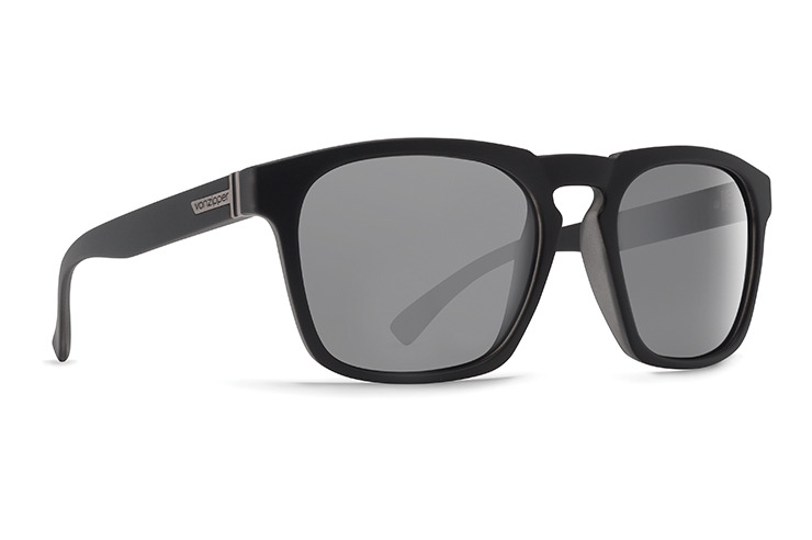 VonZipper Banner sunglasses in charcoal with crystal rose lenses SMRFABAN-CCR