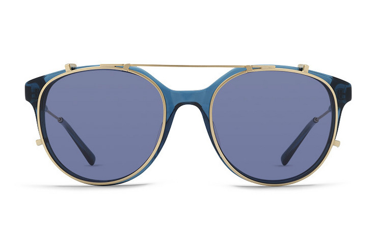 VonZipper F.C.G. Hyde sunglasses in horn with grey lenses. Hero shot