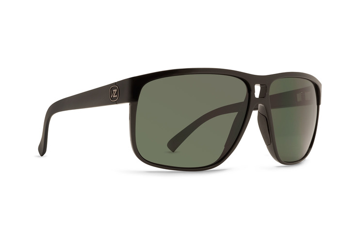 VonZipper Blotto Sunglasses in tortoise satin with vintage grey polycarbonate lenses SMSF5BLO-TOR