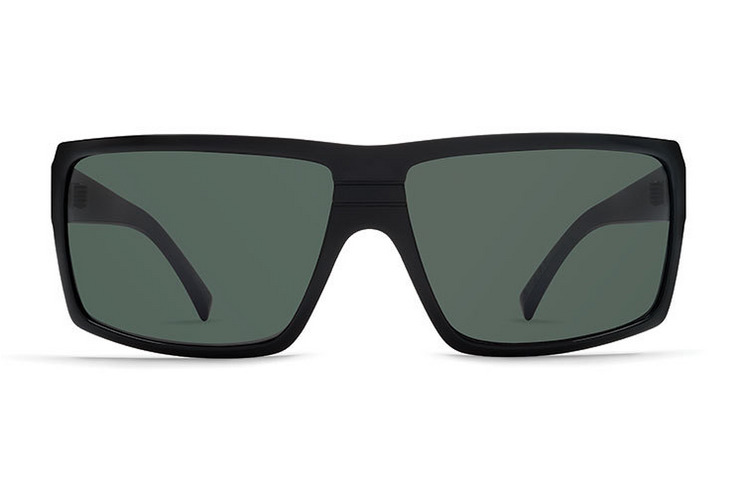 VonZipper Vibrations Snark sunglasses in black with grey polycarbonate lenses SMSFCSNA-VIB