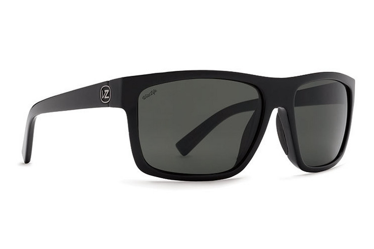 VonZipper Speedtuck sunglasses in black gloss with grey polycarbonate lenses SMSF5SPE-BKG