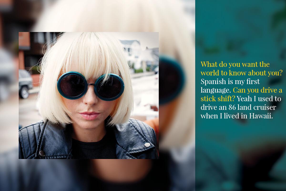 Bleu Archbold in VonZipper Womens Fling Sunglasses
