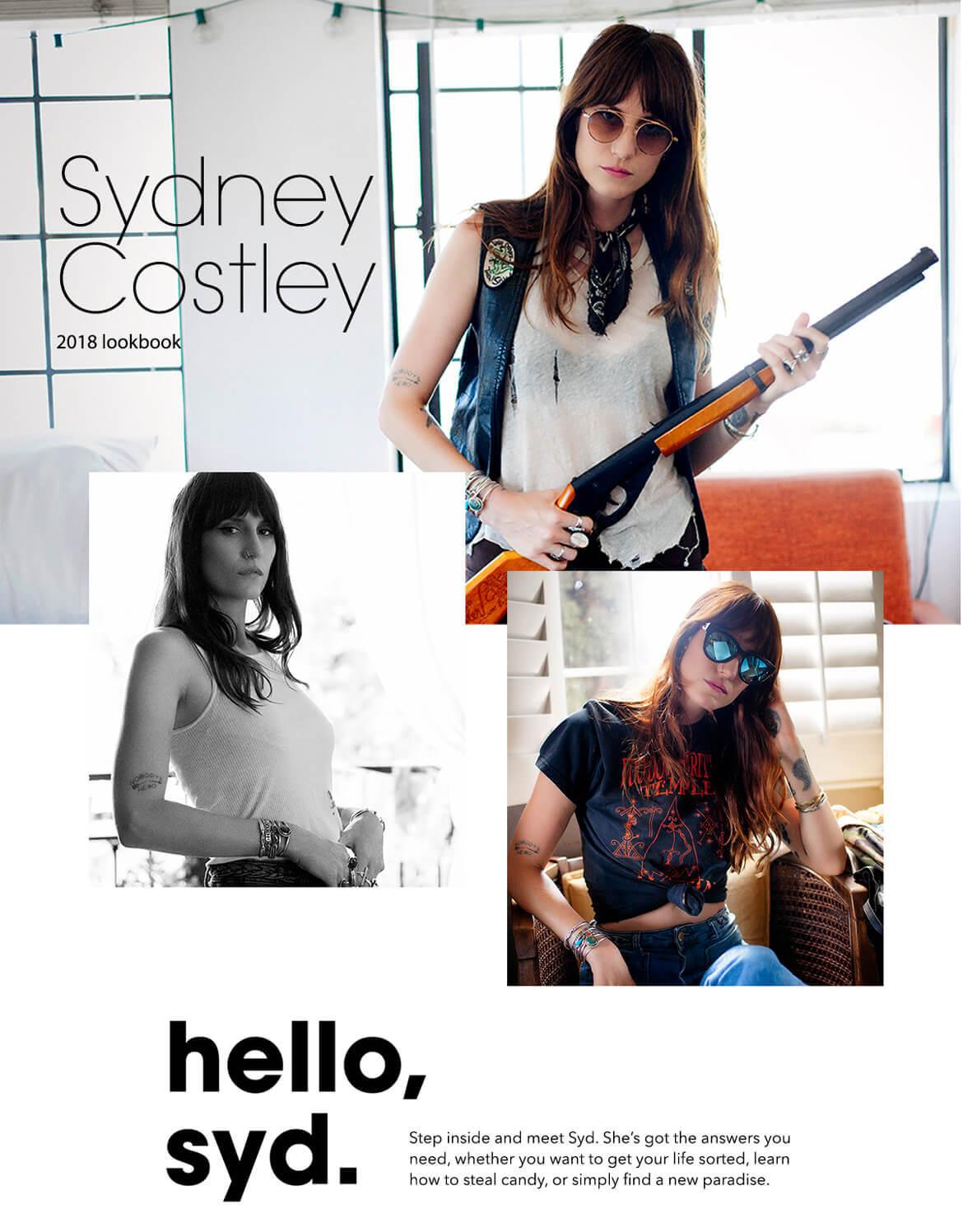 Syd Costley in VonZipper womens sunglasses